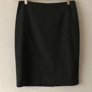 Jones New York Gray Washable Wool Skirt Size 6